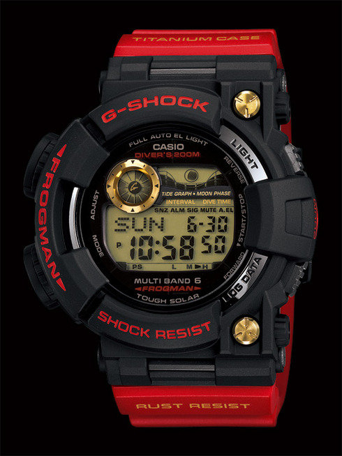 GWF-T1030A-1 Rising Red Frogman